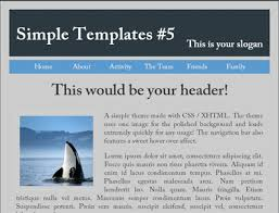 Simple Website Template Best Simple Website Template 28