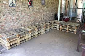 how to make a garden bench out of a pallet patio furniture with pallets docacoo