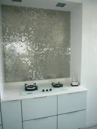 mirror tile backsplash kitchen ideas glass mosaic