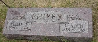 Velma Alta Phipps (Van Pelt) (1891 - 1964) - Genealogy