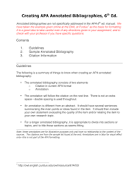 Annotated Bibliography Generator Apa Apa Annotated Bibliography Maker