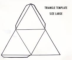 Pyramid Template triangle template Google zoeken Bags Boxes Favors Pinterest 1