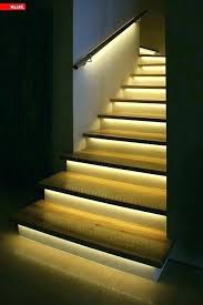 interior stairway lighting. Simple Interior Stair Lights Led Indoor Lighting Under For  Extra Fanciness The Home Of   Inside Interior Stairway Lighting N