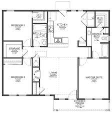 Small Bedroom House Floor Plans Three Bedroom House  small and    Small Bedroom House Floor Plans Three Bedroom House