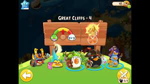Angry Birds Epic Great Cliffs Level 4 Walkthrough - YouTube