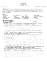 Maintenance Mechanic Resume Sample Resume For Maintenance Technician Mazard Info