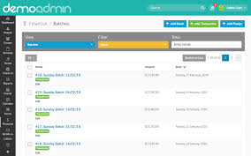 Financial Tracking Financial Tracking Online Giving Integrations Reporting
