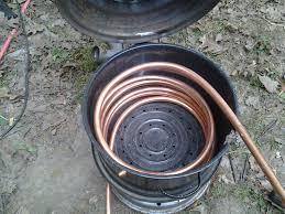 homesteader wood fired hot tub
