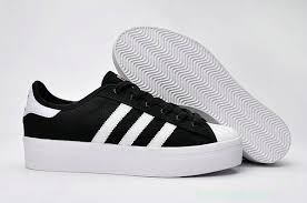 adidas shoes for girls superstar black. girls adidas superstar rize canvas black white shoe shoes for a