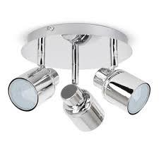 Bathroom Ceiling Lights Led Atlantic Chrome Finish Halogen Bathroom Ceiling Lights Lighting