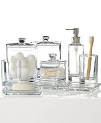 mercury glass bathroom accessories. Clear Sea Glass Bathroom Accessories With Transparent Look Mercury