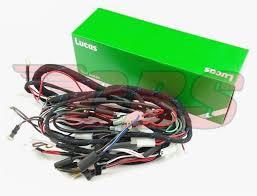 1968 triumph lucas cloth wiring harness 54953443