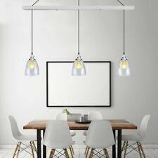 Image Lighting Ideas Head Creative Glass Chandelier Pendant Lamp Modern Ceiling Light Dining Room Ebay Dining Room Pendant Lighting For Sale Ebay