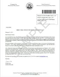 Rental Statement Form Direct Bill Notice For Short Term Rentals Ccsf Office Of Assessor