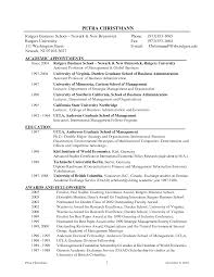 Interesting Professor Resume Examples In Sample Adjunct Professor