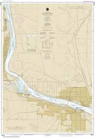 Columbia River Nautical Charts 18543 Columbia River Pasco To Richland