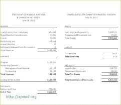Simple Income Statement E Balance Sheet Financial Statement Template Income Creator