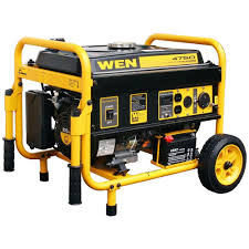 WEN 4750 Watt Generator with Electric Start The Home Depot