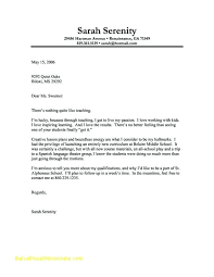 General Cover Letters General Cover Letter For Job Fair General