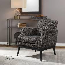 tan accent chair rolled arm chenille accent chair with nailhead trim ndash tan black