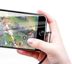 Кабель игровой <b>Baseus MVP Mobile</b> game Lightning 1.5A 2M Синий