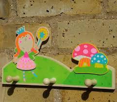 Princess Coat Rack Cool Love Hooks Fairy Princess Childrens Coat Rack With Three Wood Peg