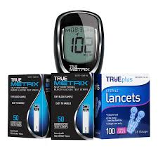 Blood Glucose Meter Compatibility With Lancets And Test Strips Chart True Metrix Glucose Test Strips 200 Bx 200 Lancets And Free Meter
