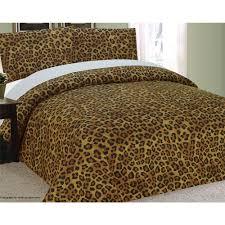 mizone chloe teal duvet cover set full queen cheetah polka dot