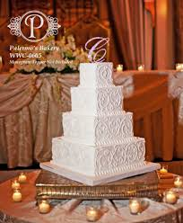 Elegant Wedding Cake Palermos Custom Cakes Bakery