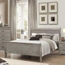 Crown Mark Louis Phillipe Queen Bed - Item Number: B3500-Q-HBFB+