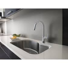 Rohl Kitchen Faucets Reviews Moen 7565 Align Polished Chrome Pullout Spray Kitchen Faucets