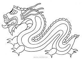 Tranh tô màu con rồng, những chú rồng rất đẹp bay lượn - Jadiny