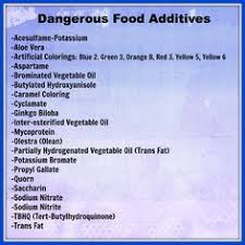 error shelf life food and weight loss dangerous food additives to avoid