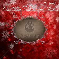 Signboard Template Christmas Signboard Template Eps 10 Gl Stock Images