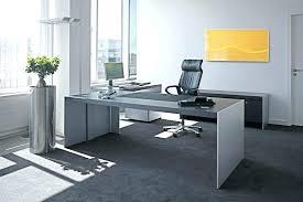 large glass desk office glass desks home design modern home office lovely large modern desk