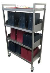 Mobile Chart Rack Carstens Launches Line Of Innovative Chart Racks