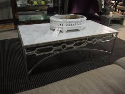 world away furniture. world away u0027graceu0027 marble top and silver leaf base coffee table measures 48u2033w x 24u2033d 18u2033h priced at 975 furniture