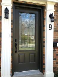 front exterior doorsEntry Doors Modern Glass And Wood Front Door With Side Light And