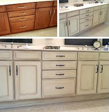 image of kitchen island and chalk paint kitchen cabinets before and after