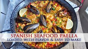 Authentic Spanish Seafood Paella Recipe ...