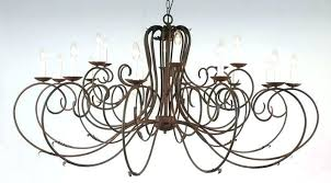 wrought iron chandeliers rustic rod chandelier pleasant candle on home ceiling lights charming