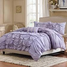 image of purple shabby chic twin bedding