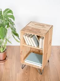 wine crate furniture. reclaimed wooden wine crate furniture cabinet coffee table bed side with hairpin legs
