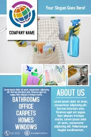 Cleaning Service Business Flyer Template Postermywall