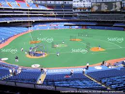 view seating charts toronto blue jays at rogers centre section 222 view