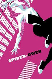 Gwen stacy from the movie: Who Is Spider Man Into The Spider Verse S Spider Gwen Nerdist