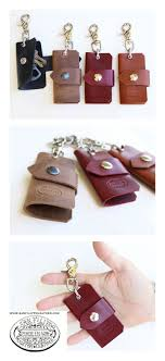 Men's Leather Key Case from San Filippo Leather. Custom made leather key  chain holder available