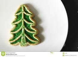 Sugar Cookie Tree Designs Sugar Cookie Christmas Tree Stock Photo Image Of