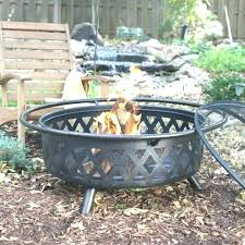 sightly extra large fire pits amazing fresh wrought iron pit drink station outdoor covers f metal