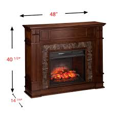 lexington infrared electric fireplace mantel in empire cherry 6a aa9d688ad152dd0a b1
